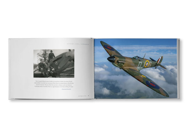 Spitfire Book spread
